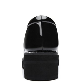 Women Elegant Breathable Anti Slide Heel Shoes (Intl)