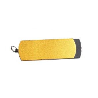 Incipient 32GB Swivel Metal Frosted Design USB Flash Drive (Gold) - Intl