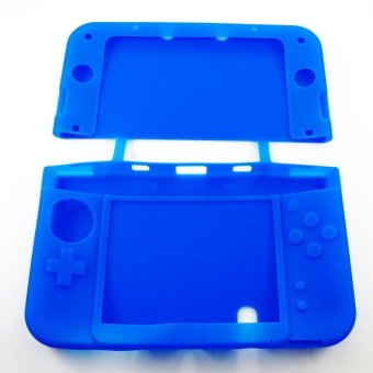 Hori New 3DS XL/LL Silicone Case - Biru