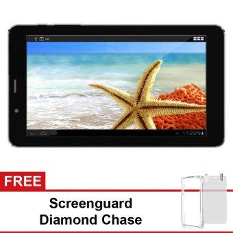 Advan E1C 3G - 8GB - Hitam + Gratis Screenguard + Diamond Case