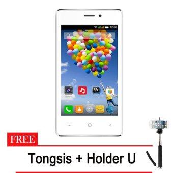 Evercoss A74A Winner T - 8GB - Putih + Gratis Tongsis