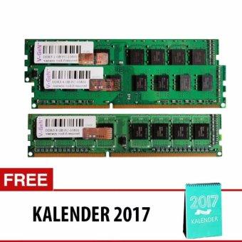 V-GEN DDR3 Long-DIMM 1.5V Unbuffered 240pin [2GB PC-10600/1333 Mhz] + Free Kalender