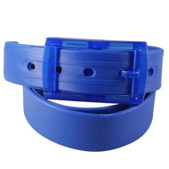 harga Dorai Plastic Belt - Ikat Pinggang Pria / Wanita (Blue) Lazada.co.id