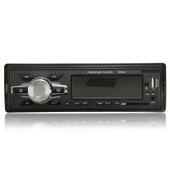 Car Practical Stereo In-Dash MP3 Music Player Radio (Intl)