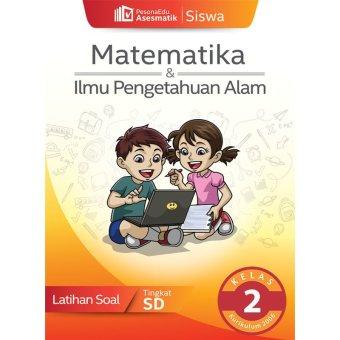 PesonaEdu Koleksi Soal Digital Asesmatik Siswa Matematika & IPA Terpadu Kelas 2 K2006