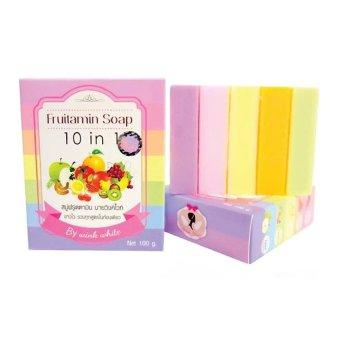 Wink White Fruitamin Soap 10 in 1 - 100gr