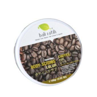 Bali Ratih Body Scrub - Coffee