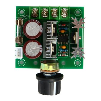 PWM DC Motor Speed Controller Switch 12V-40V 10A 13KHZ Pulse Width Modulation TE365-SZ (Multicolor) - Intl