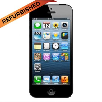 Refurbished Apple iPhone 5 - 64 GB - Hitam
