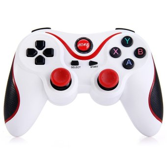 Wireless Bluetooth 3.0 Gamepad Gaming Controller for Android Smartphone White (Intl)