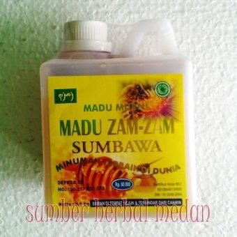 Madu Lebah 100% Murni Alami Zam-Zam Sumbawa 1/2kg