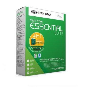 Kaspersky Antivirus Tech titan essential suite 3 user 2016