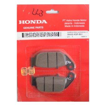 Honda Genuine Parts Suku Cadang Motor Kampas Rem Depan 06455KPP901