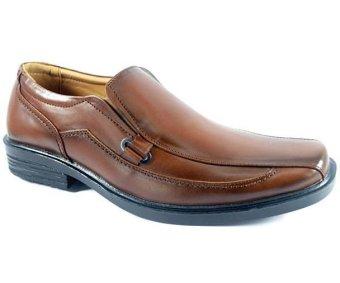 Cassico Ca 314 Sepatu Formal/ Pantofel/ Kerja Pria - Leather - Tpr Outsole - Elegan Dan Bagus - Coklat