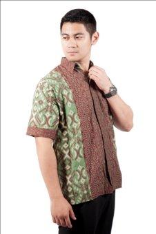 harga Djoeragan Batik Modern LK7a (Hem Kantor Pria Laki Cowo) Lazada.co.id