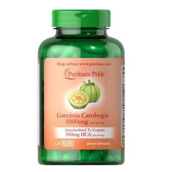 Puritan Pride Garcinia Cambogia Pelangsing Tubuh 1000 mg - 120 Caps