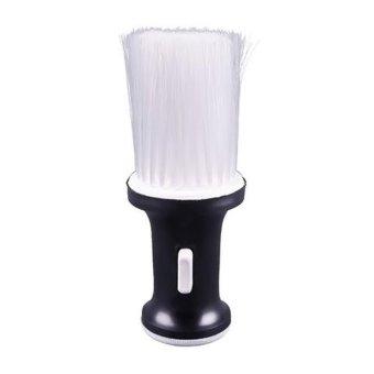 Nylon Bristles Neck Face Duster Clean Brush for Barbers Salon Stylist Baby Powder Dispenser - Intl
