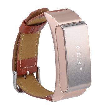 2 in 1 Sport Bracelet + Bluetooth Earphone Smart Watch M8 with 3D Sensor Sleep Monitor Pedometer Wristband (Gold) (Intl)