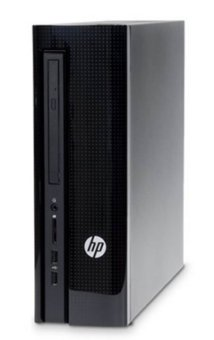 HP 455-011D Desktop PC-20AA - Intel Core i3-4170 - 2GB RAM - Hitam