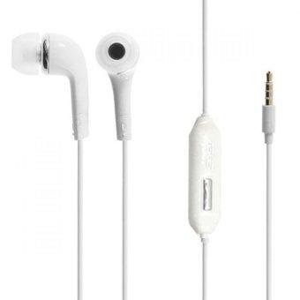 Asus Stereo Handsfree Headset Asus Zenfone Series - Putih