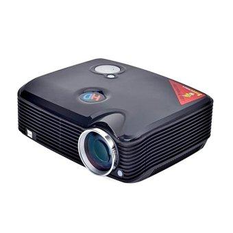 Welink Home Theater Led Projector-150inch 2500lm 800x600 Dual HDMI/USB/VGA/AV/TV Input (Black) (Intl)