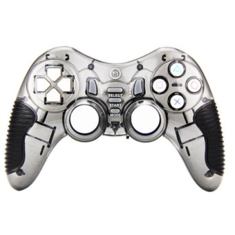 Wireless Game Controller For PC/PS3/Android Smart TV Set-top Boxes Tablet Phones TUBRO Bursts Gamepad(Grey) - Intl