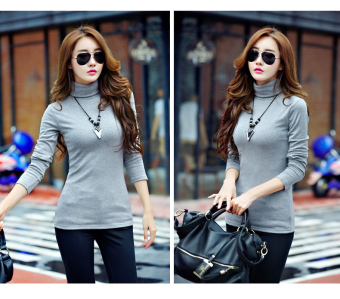 harga Labelledesign Blouse Turtleneck Alegra - MistyGrey Lazada.co.id