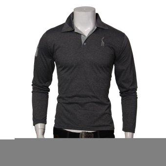 Fashion Men's Short Sleeve Casual Stylish Slim Fit T-Shirts (Intl)