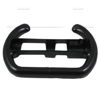 Black Mario Kart Racing Games Steering Wheel for Nintendo Wii Remote Controller (Intl)