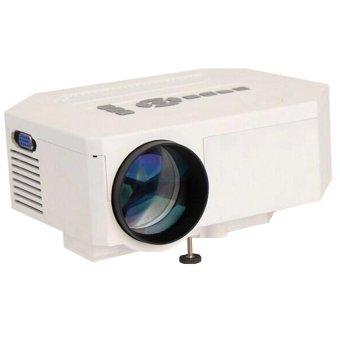 UC30 HDMI Mini LED 150 LM Projector Home Cinema Theater AV VGA USB SD With Keystone Correction function white (Intl)