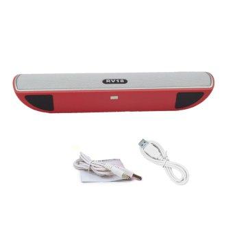 Vococal Portable Mini Wireless Bluetooth (Red)