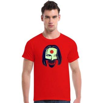 Suicide Squad Katana Cotton Soft Men Short T-Shirt (Red) - Intl