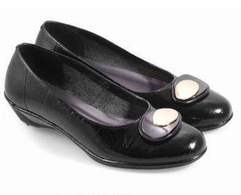 Everflow KY 204 Sepatu Formal Heels Wanita (Black)