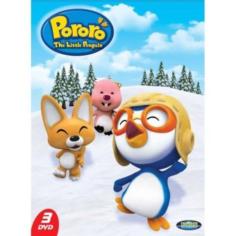 Emperor Edutainment DVD Pororo The Little Penguin Volume 2 (3DVD)