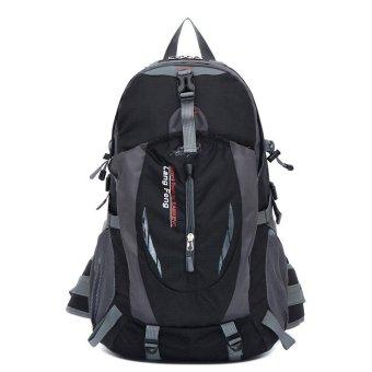 Outdoor Sport 35L Waterproof Travel Hiking Camping Luggage Backpack Rucksack Bag Black (Intl)