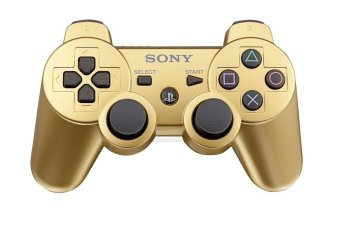 Sony Playstation 3 Dualshock Controller Gold