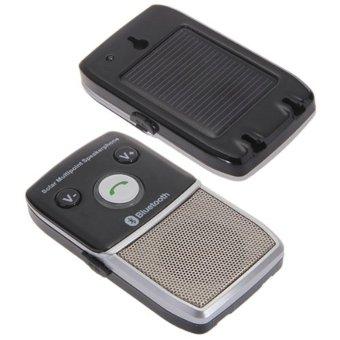 Car Solar Powered Bluetooth Kit 2.1 Speaker Speakerphone Hands Free for Cell Phone