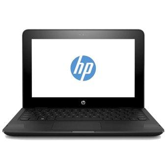 Jual HP Pavilion X360 11-AB006TU - 11.6 HD - Intel Celeron N3060 - 4GB Ram - 500GB HDD - Win 10 - Hitam
