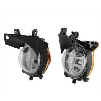 Front Fog Lights Clear Lens For BMW E39 5 Series