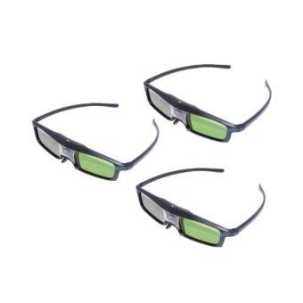 CX-30 3pcs/lot 3D Glasses for 3D DLP-LINK Projector (Intl)