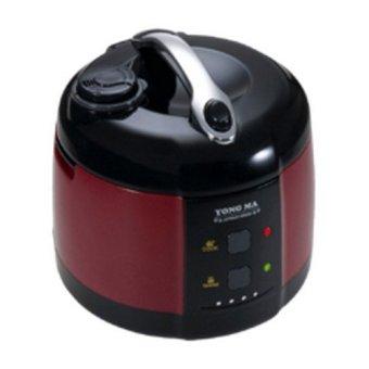 Yongma Rice Cooker Series MC3100 - Merah/Hitam