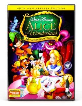 Disney DVD : Alice In Wonderland Special Edition (animation)