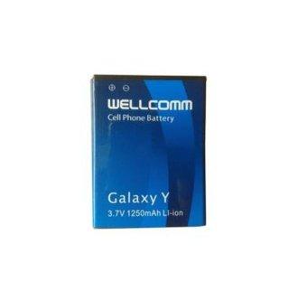 Wellcomm Battery Samsung S-5360 1250 mAh - Biru terpercaya