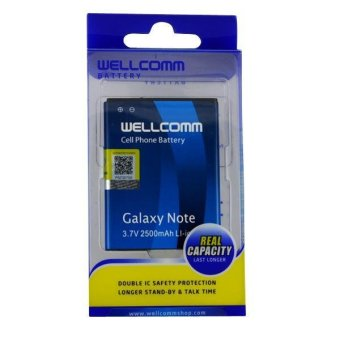 Wellcomm Battery Double IC Samsung GT-N7000 Galaxy Note terpercaya