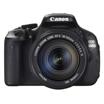harga Canon EOS 600D Digital Camera Kit 18-135mm IS Lens Kiss x5 Lazada.co.id