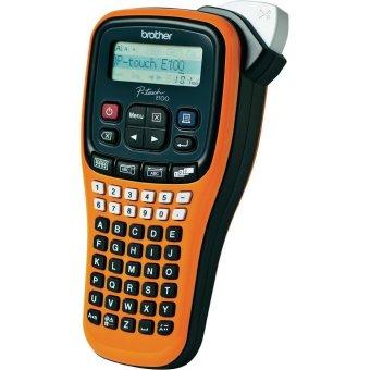 harga Brother Printer Label PT-E100VP Handheld Eor Electrical Sector Lazada.co.id