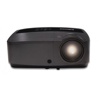 InFocus IN-2124A Ultra Bright DLP Projector - 3500 ANSI - XGA 1024x768 - 15.000:1 - Complete Connectivity - Hitam