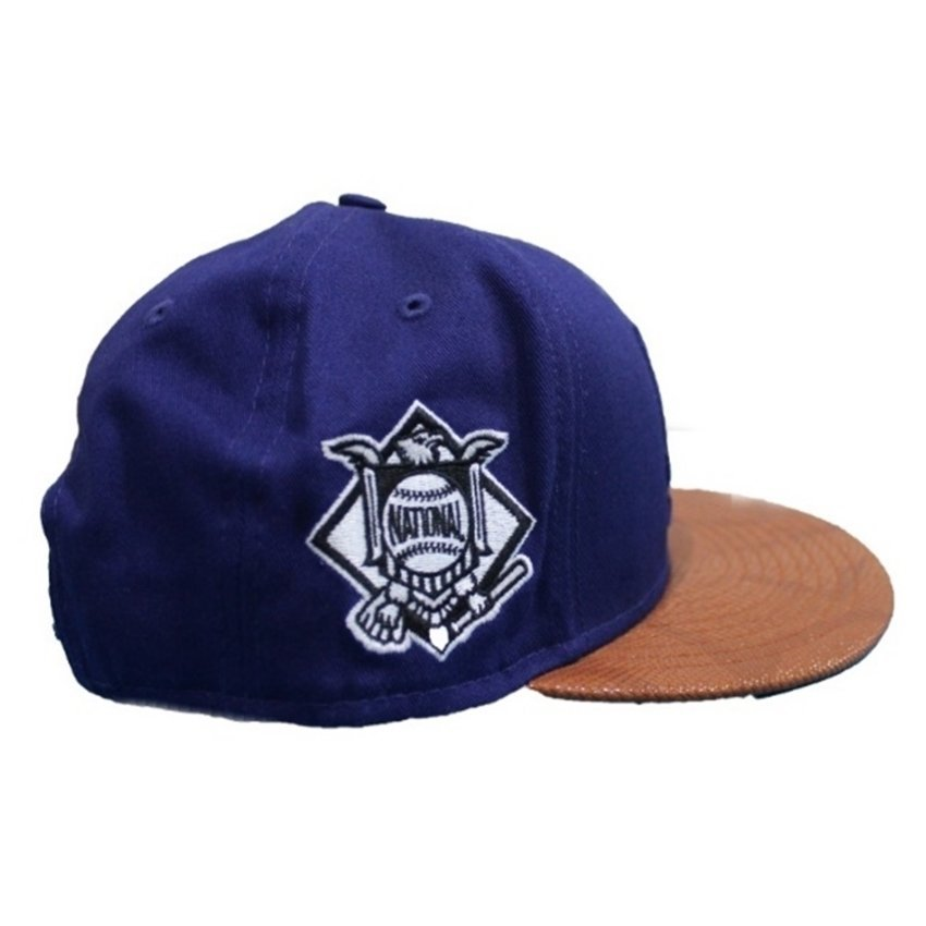 harga New Era Topi Edisi Los Angeles Dodgers FR Leather MLB - Biru Lazada.co.id