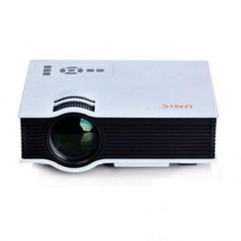 Mini LED Portable 800 Lumens Full HD 1080P Projector Home Cinema Theater (Silver) (Intl)