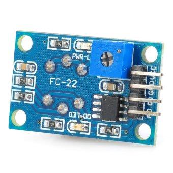 ZUNCLE FC-22-G Flammable Gas MQ-8 Hydrogen Detection Sensor Module(Blue + Silver)